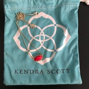 Red Kenda Scott Necklace